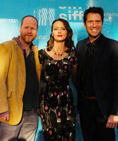 Joss Whedon, Amy Acker, Alexis Denisof (5/16/13)