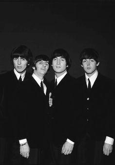 George Harrison, Richard Starkey, John Lennon, and Paul McCartney