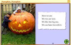 Interactive Education: Pumpkin, Pumpkin