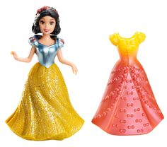 Disney Princess, MagiClip Figure, Snow White with 2 Dresses