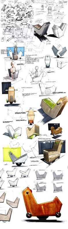 sketches vol.1 by Michał Markiewicz, via Behance