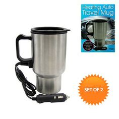 Heating Auto Travel Mug | Maxwells Attic