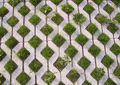 Permeable Grass Pavers: A Sustainable Alternative to Traditional Concrete Paving Methods Outdoor Patio Pavers, Grass Pavers, No Grass Backyard, Brick Paving, Concrete Driveways, Paving Stones, Walkways, Pervious Pavers, Gardens