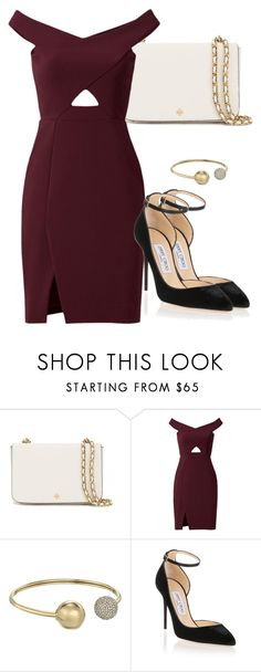 """Sem título #4958"" by beatrizvilar on Polyvore featuring moda, Tory Burch, Parker, Michael Kors e Jimmy Choo"