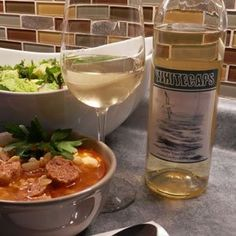 essexcountywineries.com review of Whitecaps German Sausage, Essex County, Wine Dinner, Barley Soup, Sausage Soup, White Wine, Brewery, Wines, Vineyard