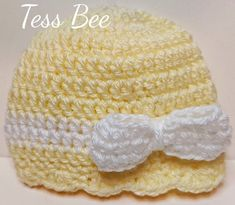 This pretty petite bow hat looks great in any colour combo and super sweet to grace any baby girls head. get ready for baby! works great in hospital or for that first journey home, as a photo prop for those first photos and as an every day hat Baby Girl Hats, Girl With Hat, Baby Bows, Funky Hats, Cute Hats, Girl Gifts, Baby Gifts, Spring Hats, Getting Ready For Baby