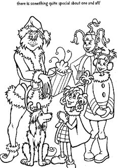 Free Grinch Coloring Pages For Kids great outline for icing a