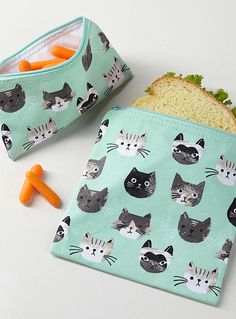 Little kittens lunch bags Set of 2 | Danica | Chic and Useful Kitchen Accessories Online | Simons