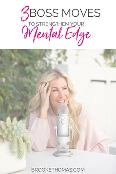 What excuses are keeping you from the life you want? It's easy to blame our circumstances for why we're not taking action on our dreams. But is that really the problem? Listen in as Brooke shares 3 boss moves you can use to push past excuses, strengthen your mental edge, and step into your power! #theliveoutloudshow #podcast #mentalwellness #mentalhealth #mentaledge