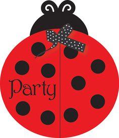 ladybug+theme+party+ | ladybug themed party invitations ladybug party invitations feature a ...