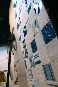 Piemme Ceramiche wall tiles! #MCaroundCersaie #MadeInItaly #CeramicTile Follow MaterialiCasa.com