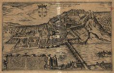 Illustris civitatis Comimbriae in Lusitania 1600 Georg Braun.jpg
