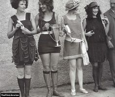 A 'Bathing Beauty' Contest-1920's