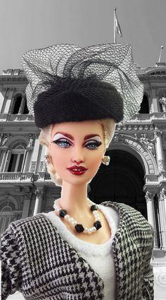 https://flic.kr/p/EqseNH   Barbie Madonna Evita Peron Style Ooak   stores.ebay.com/IMPERIALIS-OOAK-DOLLS