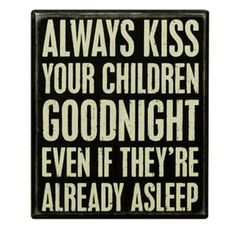 David gets kisses at bedtime then I can't help myself but I have to check on him and retuck him in right before I go to bed <3