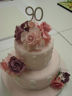 90th birthday cakes | 90th Birthday cake