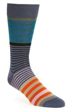 Paul Smith 'New Woven' Stripe Socks