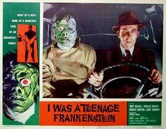 !  I Was A Teenage Frankenstein by peterpulp.deviantart.com on @DeviantArt