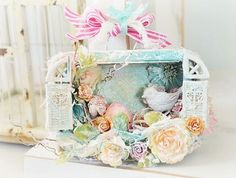 shadow box created by Stacey Young