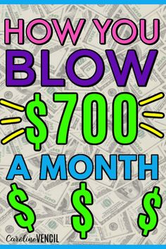 Do you want to know where your money goes every single payday? Here are 11 ways you are blowing $700 a month and keeps you living paycheck to paycheck. #cuttingexpenses #moneysavingtips #moneysavinghacks #livingpaychecktopaycheck #budgetingtips #budgetinghacks