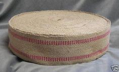 Red Jute Webbing  5 Yards  Jute Ribbon Sale by TheDestashDepot, $12.50