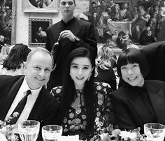 #Party #AngelicaCheung #BingbingFan and #MichaelBurke Chairman and CEO of Louis Vuitton at the dinner to celebrate #lvxkoons. @angelica_cheung @bingbing_fan #派对 #张宇#范冰冰 和Louis Vuitton总裁Michael Burke在巴黎卢浮宫#JeffKoons 特别系列晚宴上  via VOGUE CHINA MAGAZINE OFFICIAL INSTAGRAM - Fashion Campaigns  Haute Couture  Advertising  Editorial Photography  Magazine Cover Designs  Supermodels  Runway Models