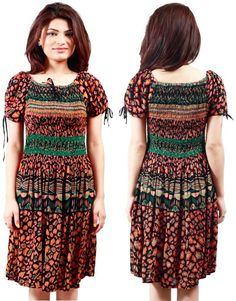 Women Bollywood S,M,L Country Rancho Dress Party Tunic Designer Indian Western #Kriyacreation