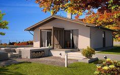 Návrh rodinného domu STILO ABSOLUT od APEX ARCH s.r.o. Home Fashion, Garage Doors, Mansions, House Styles, Outdoor Decor, Home Decor, Decoration Home, Manor Houses, Room Decor