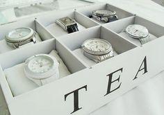 Organizador para los relojes!!!
