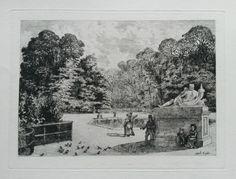 Albert Taille : Parc Reserve de St Cloud (1875)