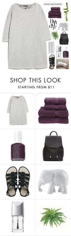 """≁ blacquer highliner"" by half-dust ❤ liked on Polyvore featuring MANGO, Kenzie, PLANT, Christy, Essie, rag & bone, Melissa, The Elephant Family, Christian Dior and Bare Cotton"
