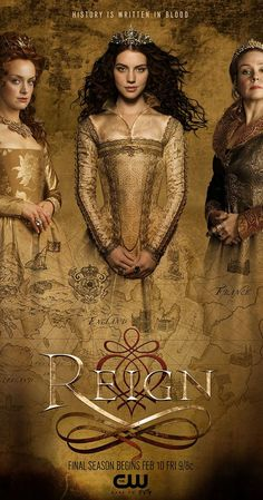 Created by Laurie McCarthy, Stephanie Sengupta.  With Adelaide Kane, Megan Follows, Celina Sinden, Torrance Coombs. Mary, Queen of Scots, faces political and sexual intrigue in the treacherous world of the French court.