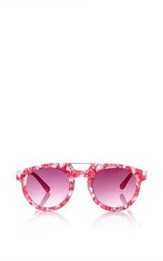 Pink doppioponte with smoke lens by SPEKTRE Preorder Now on Moda Operandi