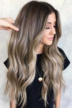 47 Trendy hair color chart blonde highlights - Hair World Dark Hair With Highlights, Hair Color Dark, Ombre Hair Color, Hair Color Balayage, Cool Hair Color, Partial Highlights, Color Highlights, Baylage Blonde, Brunette With Blonde Highlights