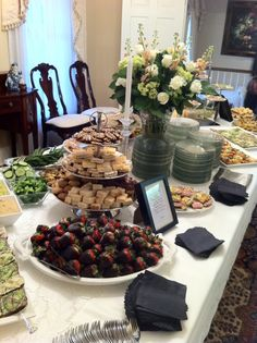Having a shower? Tea Party?  Holly's Eventful Dining #Knoxville