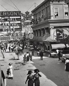 Coney Island, c 1890s, Unknown Photographer