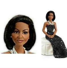 First Lady Black Barbie