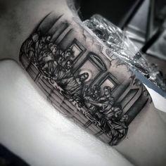 for men tattoo designs christian tattoos tattoos and body art tattoos . Half Sleeve Tattoos For Guys, Best Sleeve Tattoos, Tattoo Sleeve Designs, Tattoo Designs Men, Jesus Tattoo, Christ Tattoo, Religious Tattoos For Men, Catholic Tattoos, Unique Tattoos For Men