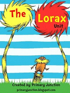 The Lorax- truffula tree ideas for bulletin boards