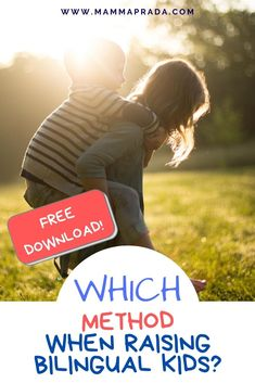If you want to raise your children bilingually or multinlingually. How do you start? Should you use the OPOL method? Minority Language at Home? Which is best? Download our free guide and find out what suits your family. #bilingual #multilingual #languages #bilingualkids #homeschool Foreign Languages, Raising, Children, Kids, Homeschool, Challenges, Parenting, Young Children, Young Children
