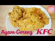 Resep Cara Membuat Ayam Kentucky Renyah Youtube Ayam Goreng Resep Ayam Resep