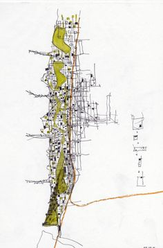 "Fabio Alessandro Fusco, Italian architect and teacher, made a set of drawings entitled ""Relational Cities"". The Relational Cities are conceptual places where to experience the re-writings of the relations among the degraded materials of postmodernity The relational cities are reifications of..."