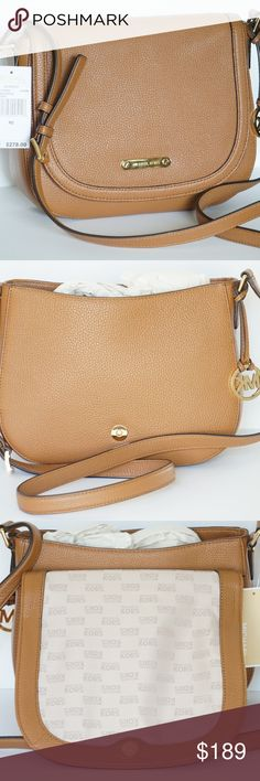 c7b3bc35c717 Michael Kors Large Messenger Bag Blakeley Acorn Michael Kors Large  Messenger Bag Acorn MSRP 278.00 perfect