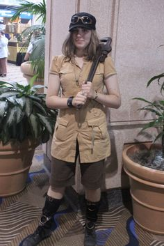 Steampunk Mechanic at Metrocon 2011. Photo by TampaSteampunk.  Steampunk beauty of the day!