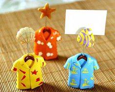 Señalador de mesa camisa Hawaiana