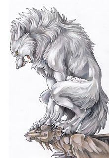Collabission for of white werewolf. Lineart by me (faber castell pigment pen) Coloring by *kankakanka (polychromos pencils) White Werewolf Anime Wolf, Dark Fantasy, Fantasy Art, Wolf Hybrid, Werewolf Art, Werewolf Tattoo, Werewolf Drawings, Vampires And Werewolves, Creatures Of The Night