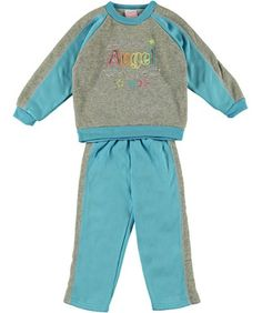 "Mon Petit ""Mommy`s Angel"" 2-Piece Sweatsuit (Sizes 2T - 4T) $4.99"