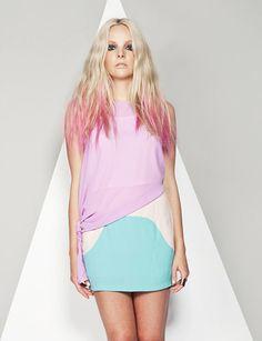Pink dip dye - All For Hair Color Trending Hair Color Pink, Pink Hair, Hair Colors, Pink Dip Dye, Lady Lovely Locks, Yummy Mummy, Dips, Braids, Long Hair Styles