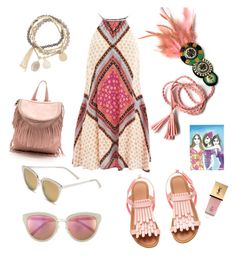 """pink with joy!"" by jennross76 on Polyvore featuring Quay, MINKPINK, DesignSix and Yves Saint Laurent"