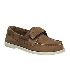 Sperry TopSider Boys AO HookandLoop Boat Shoes #Dillards